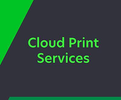Cloud Print Services Boileau
